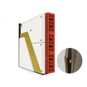 Placi fonoizolante MUTE 23 cu material fonoabsorbant 120 x 100 cm montaj perete