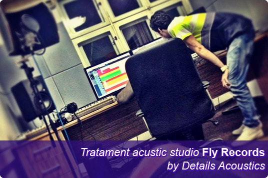 tratament acustic fly records-min